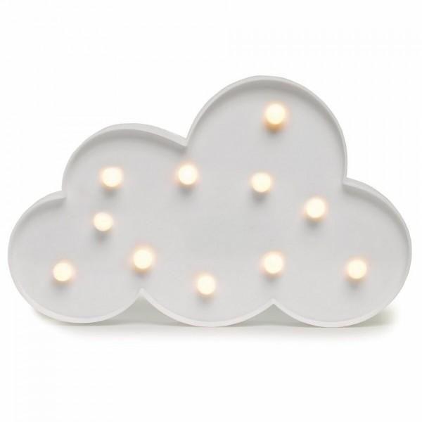 DecoKing Svietiaca dekorácia Mráčik teplá biela, 11 LED