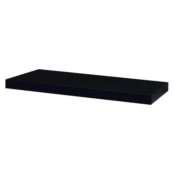Nástenná polička Shelfy 60 cm, čierna, 60 cm