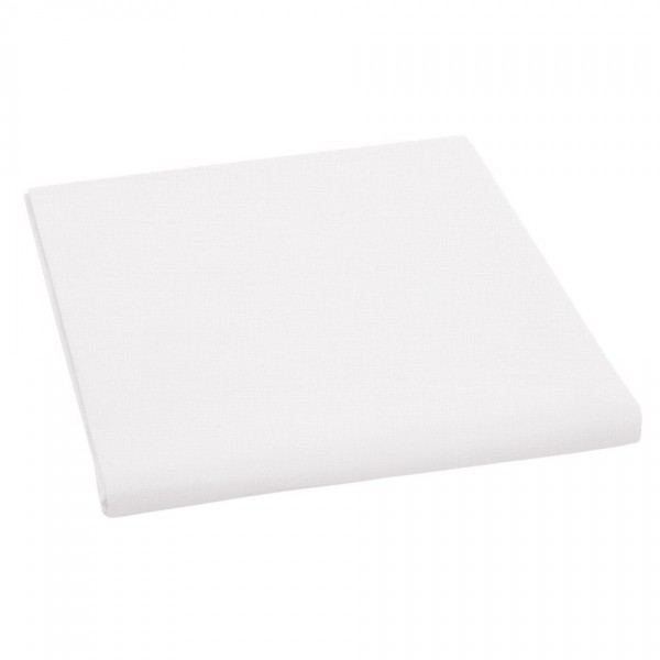 Bellatex plátené prestieradlo, biela, 150 x 230 cm