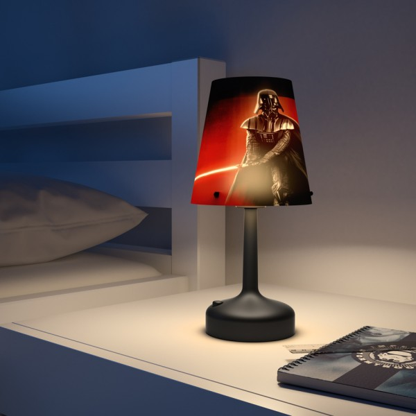 Philips Disney Lampa stolná prenosná Star Wars Darth Vader