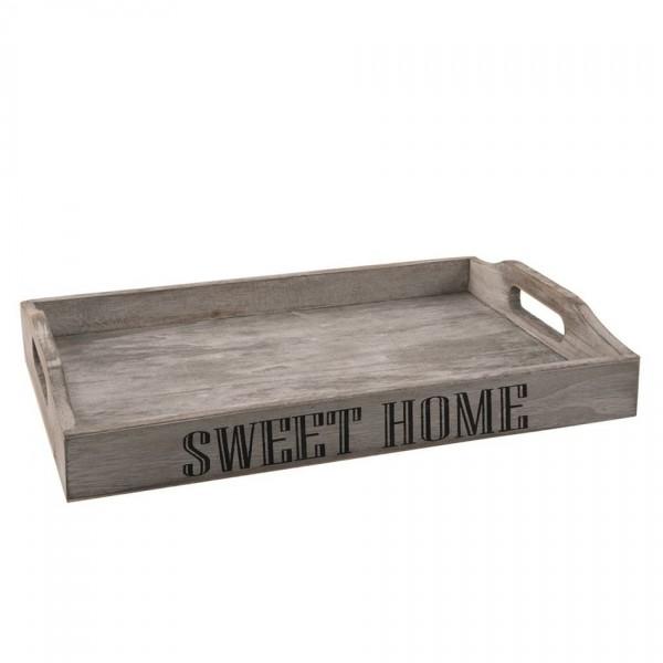 Orion Drevený podnos Sweet home, 35 x 23 x 5,5 cm