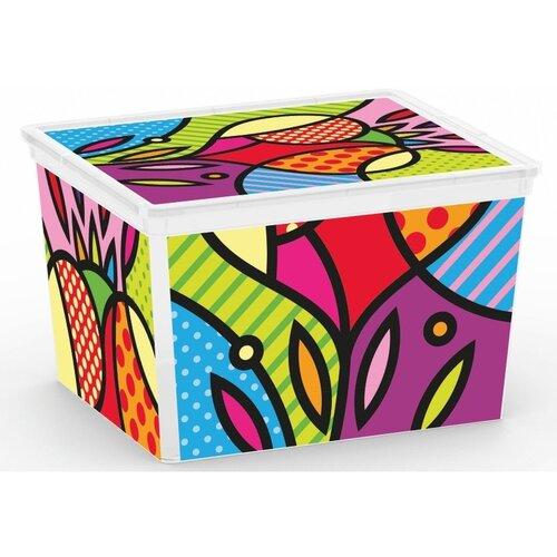KIS Úložný C Box Style Artists CUBE, 27l
