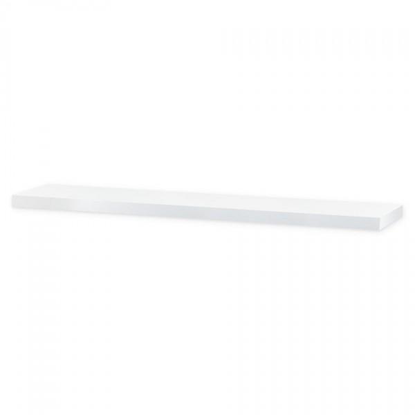 Nástenná polička Shelfy 120 cm, biela, 120 cm