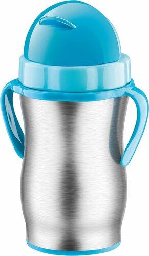 Tescoma BAMBINI detská termoska so slamkou, modrá