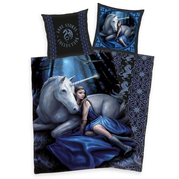 Herding Detské bavlnené obliečky Anne Stokes, 140 x 200 cm, 70 x 90 cm