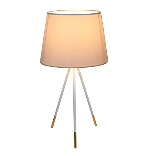 Tempo Kondela Stolná lampa Jade 5, biela
