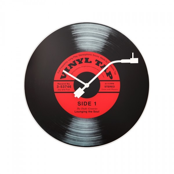 Nextime Vinyl Tap 8141 nástenné hodiny