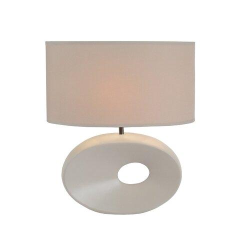 Tempo Kondela Keramická stolná lampa Qenny 9, biela