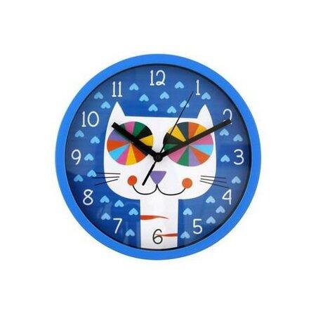 Nástenné hodiny Mňau, 25 cm