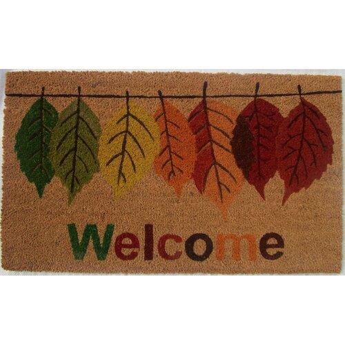 Trade Concept Kokosová rohožka Welcome Leaf, , 43 x 73 cm