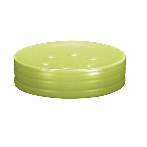 Miska pod mydlo zelená
