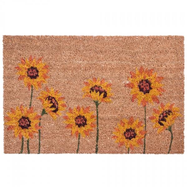 BO-MA Kokosová rohožka Slnečnica, 40 x 60 cm
