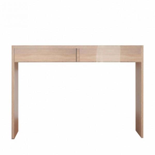 TEMPO KONDELA Toaletný stolík/písací stôl, dub sonoma, VIOLET