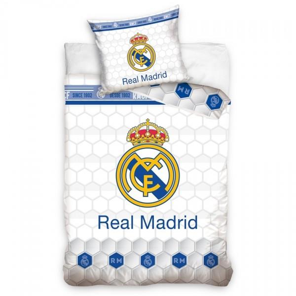 Carbotex Bavlnené obliečky Real Madrid Colmenas, 140 x 200 cm, 70 x 90 cm