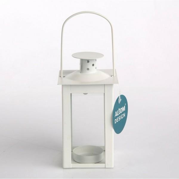 Altom Kovový lampáš na čajovú sviečku Elena, 7,5 x 14 cm