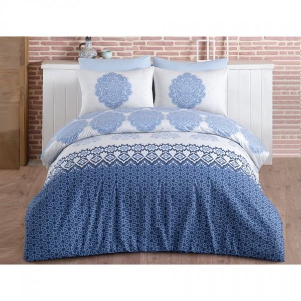 BedTex Bavlnené obliečky Trevi Blue, 220 x 200 cm, 2 ks 70 x 90 cm