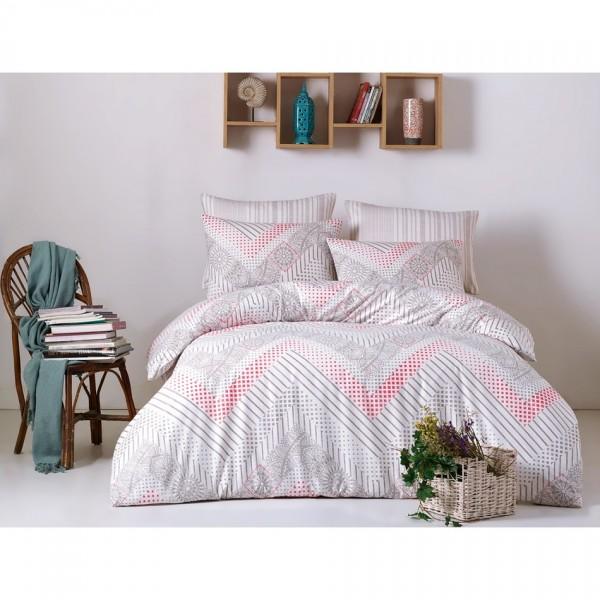 BedTex Bavlnené obliečky Lena sivá, 220 x 200 cm, 2 ks 70 x 90 cm
