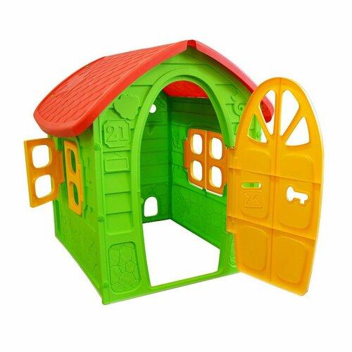 Dohány Detský záhradný domček zelená, 111 x 113 x 120 cm