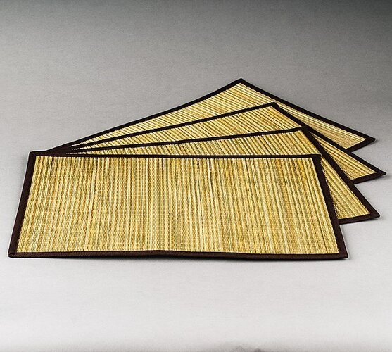 Jahu Prestieranie Pampová tráva, súprava 4 kusov, 30x45 cm