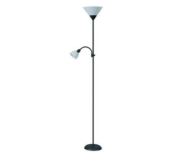 Rabalux 4062 Action stojaca lampa, čierna