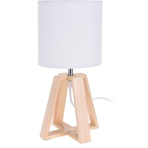 Koopman Stolná lampa Idaho, biela