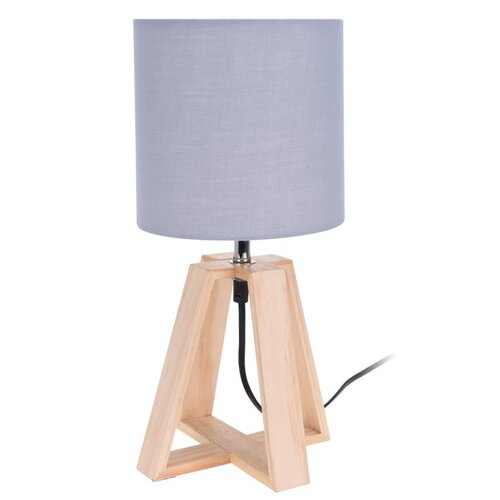 Koopman Stolná lampa Idaho, sivá