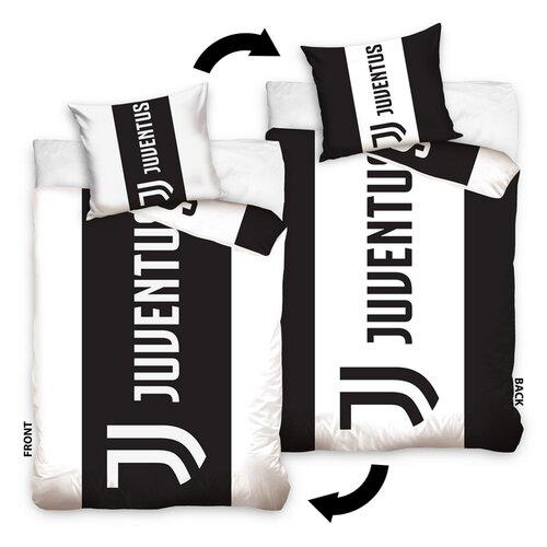 BedTex Bavlnené obliečky FC Juventus Doppio, 140 x 200 cm,  70 x 90 cm