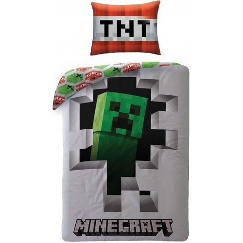 Halantex Bavlnené obliečky Minecraft 107, 140 x 200 cm, 70 x 90 cm