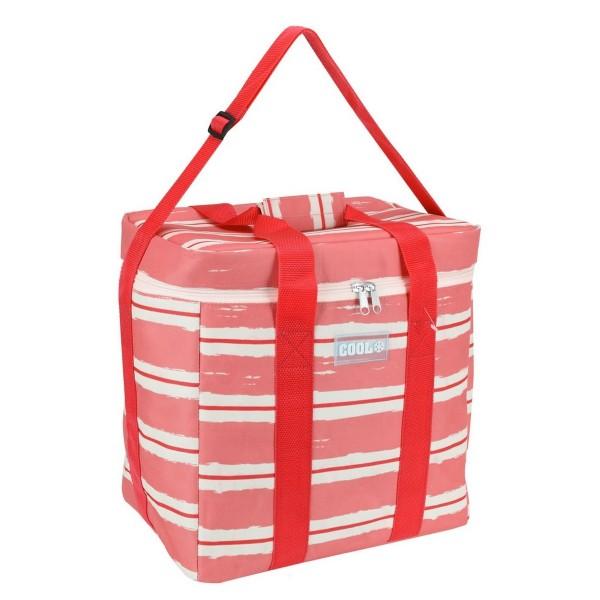 Koopman Chladiaca taška Nautical červená, 34 x 22 x 34 cm