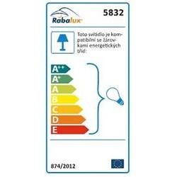Kúpeľňové svietidlo Rabalux Cibyll 5832 biela