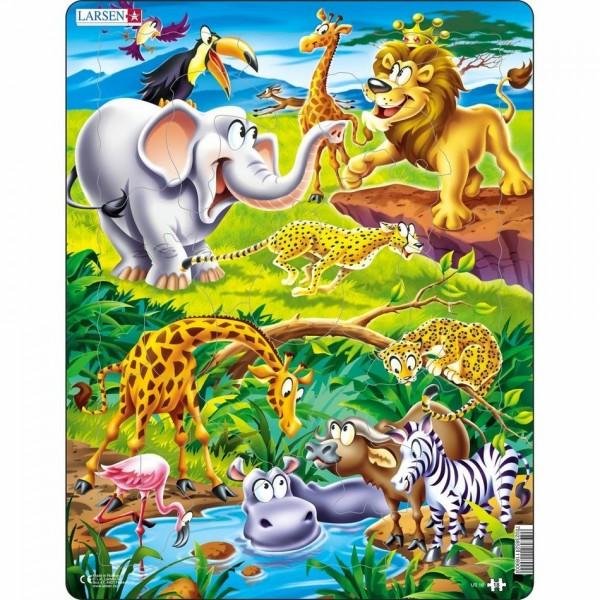 Larsen Puzzle Safari, 18 dielikov