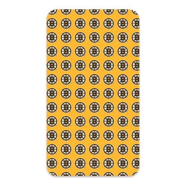 BedTex Bavlnené prestieradlo NHL Boston Bruins, 90 x 200 cm