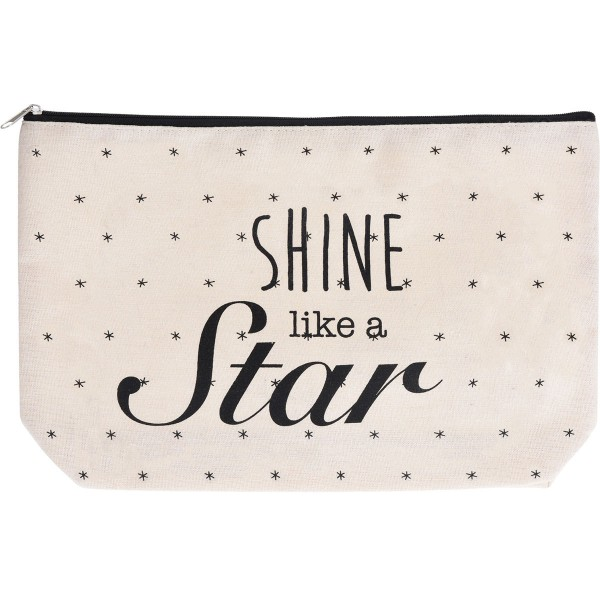 Koopman Kozmetická taštička Shine like a star, 33 x 21 cm
