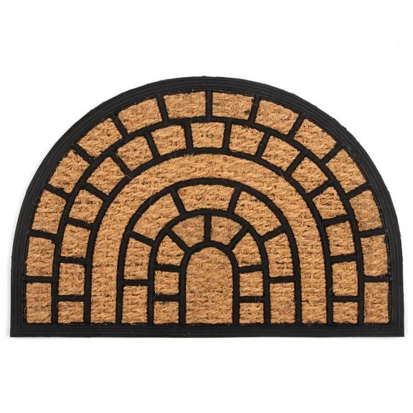 Trade Concept Kokosová rohožka Tehly polkruh, 40 x 60 cm