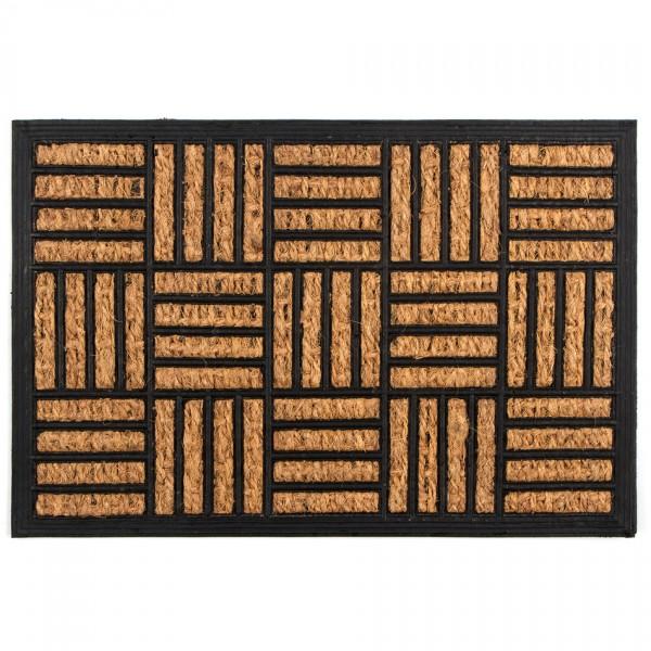Trade Concept Kokosová rohožka Squares, 40 x 60 cm