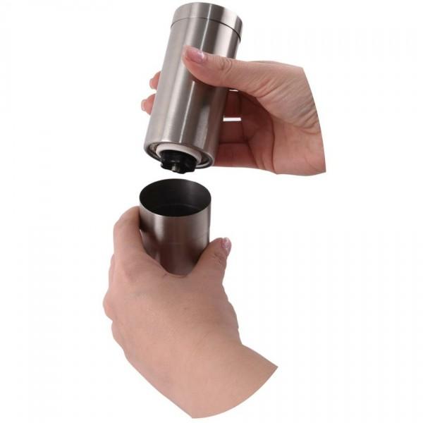 Orion Nerezový mlynček na kávu, 21 cm