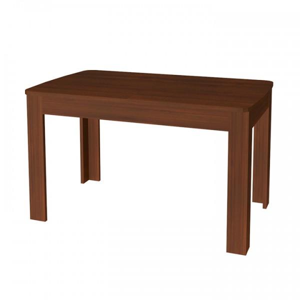 TEMPO KONDELA Jedálenský rozkladací stôl, orech vlašský, WALENA