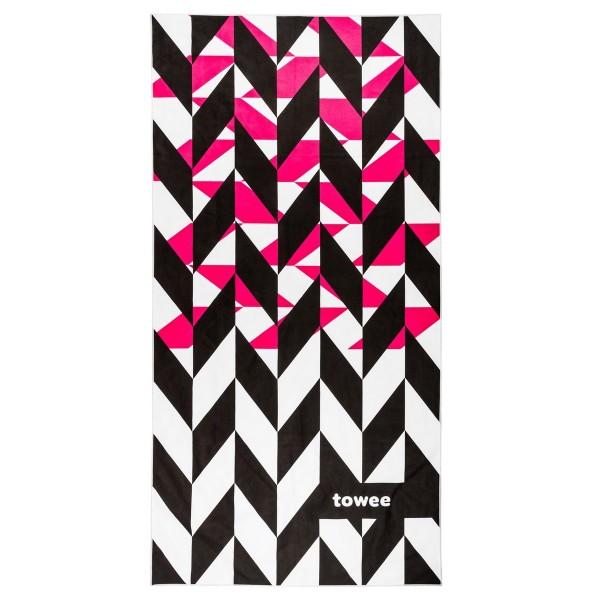 Towee Športový uterák DYNAMICA pink, 50 x 100 cm