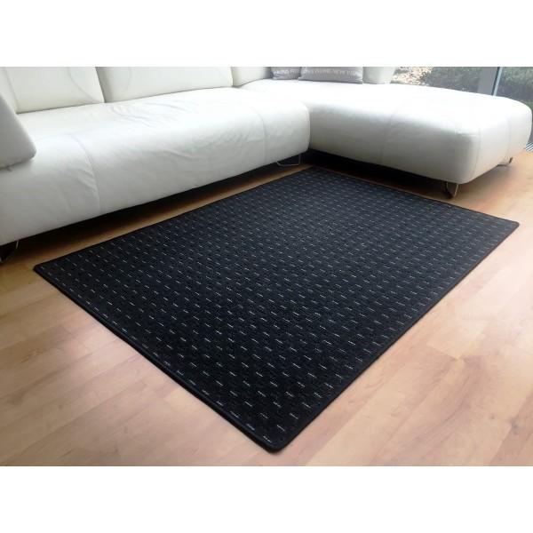 Vopi Kusový koberec Valencia antracit, 120 x 170 cm