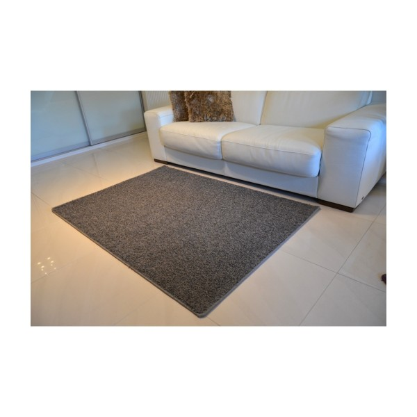 Vopi Kusový koberec Color shaggy sivá, 100 cm