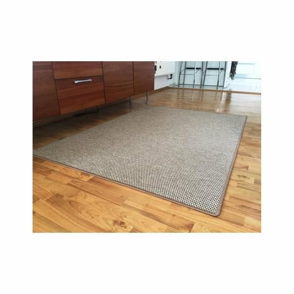 Vopi Kusový koberec Nature béžová, 140 x 200 cm