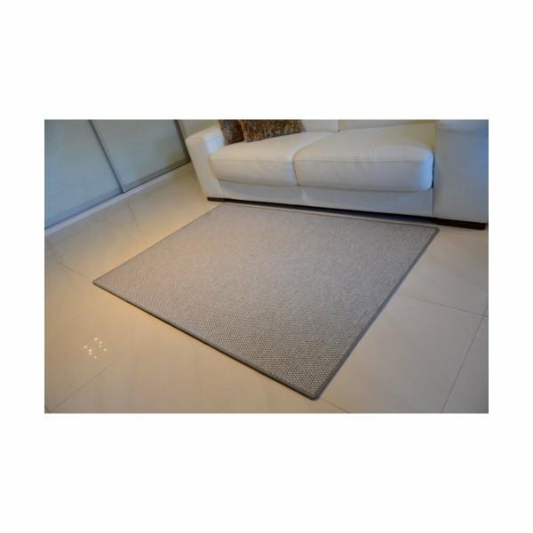 Vopi Kusový koberec Nature sivá, 80 x 150 cm
