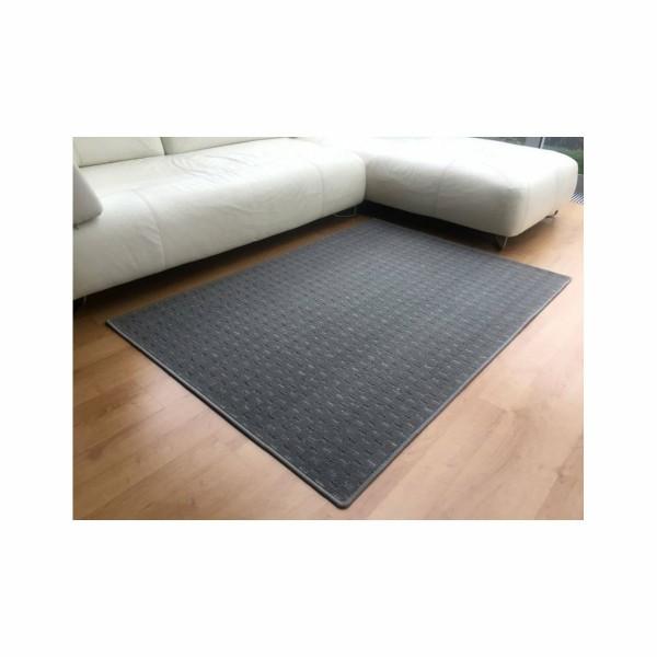 Vopi Kusový koberec Valencia sivá, 60 x 110 cm