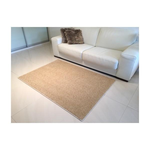 Vopi Kusový koberec Color shaggy béžová, 140 x 200 cm