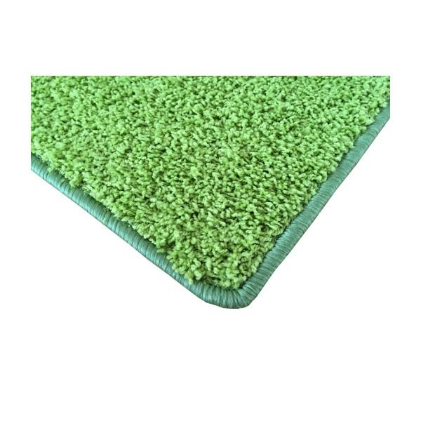 Vopi Kusový koberec Color shaggy zelená, 120 x 170 cm