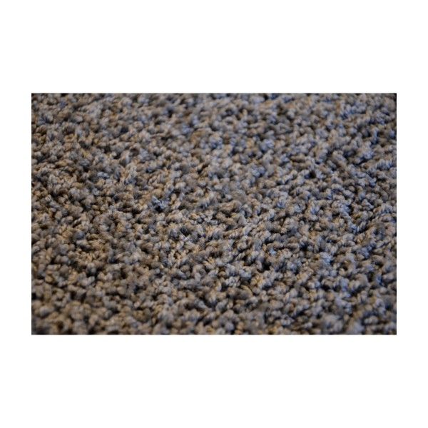 Vopi Kusový koberec Color shaggy sivá, 60 x 110 cm