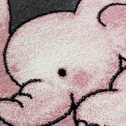 Vopi Kusový detský koberec Kids 560 pink, 80 x 150 cm