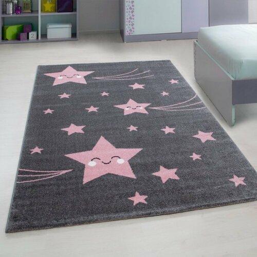 Vopi Kusový detský koberec Kids 610 pink, 80 x 150 cm