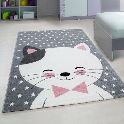 Vopi Kusový detský koberec Kids 550 pink, 80 x 150 cm