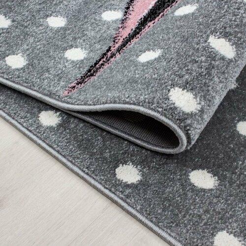 Vopi Kusový detský koberec Kids 590 pink